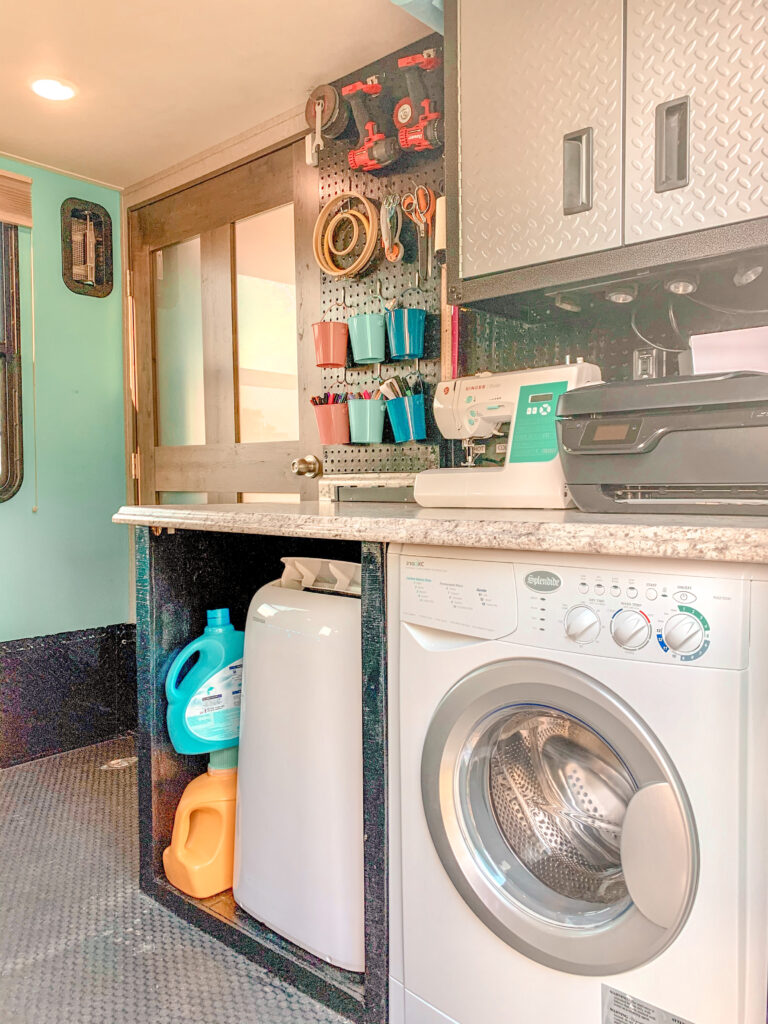 RV Washer/Dryer Combo In toy hauler