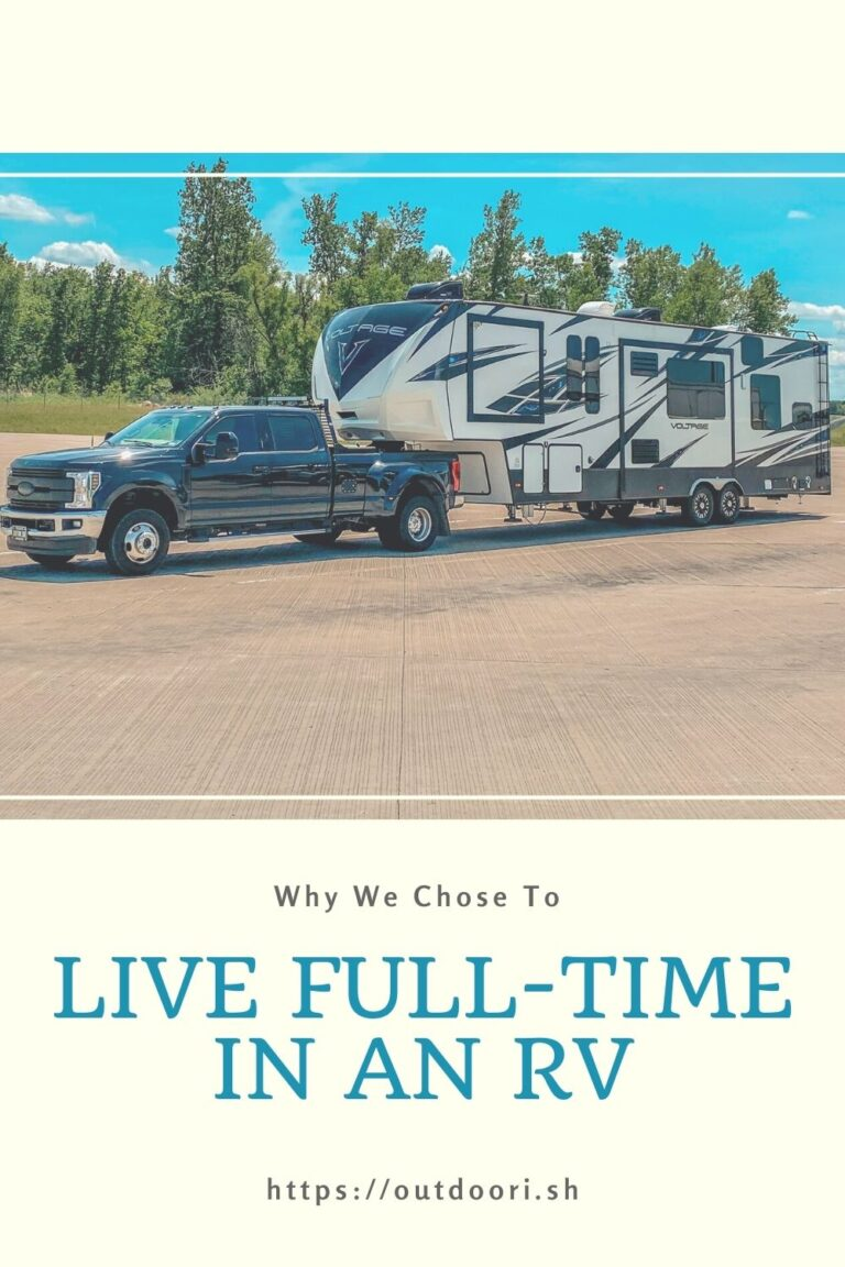 Why We Chose to Live Full-Time in an RV