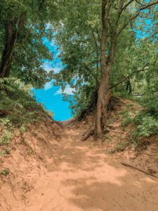 Sand dunes hike