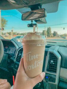 Tim Horton's Blended Coffee