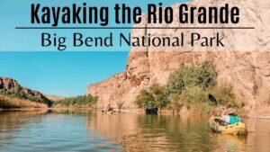 Kayaking the Rio Grande Title Page
