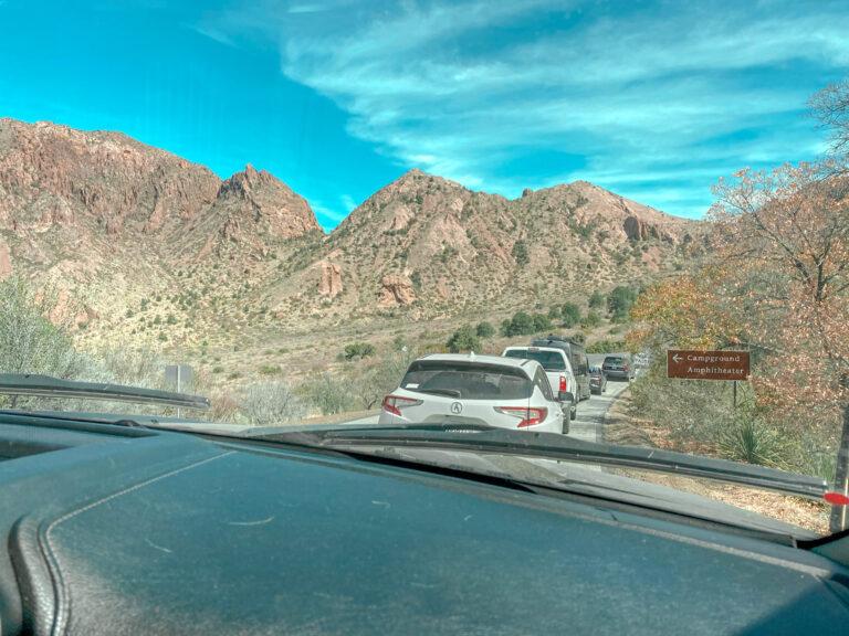 Road closure in big bend