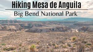 Mesa De Anguila Title page