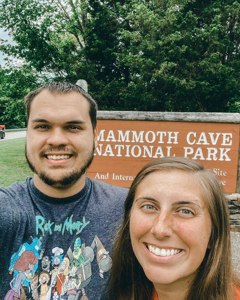 Philip and Megan at Mammoth Cave