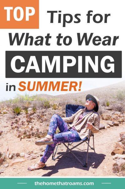 camp clothing tips pin
