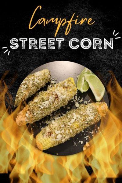 Campfire street corn