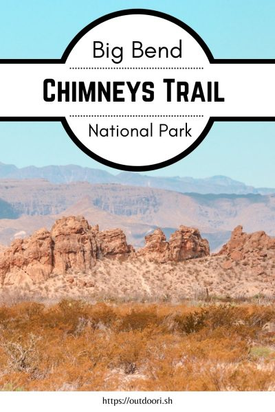 Chimneys Trail Pinterest Pin