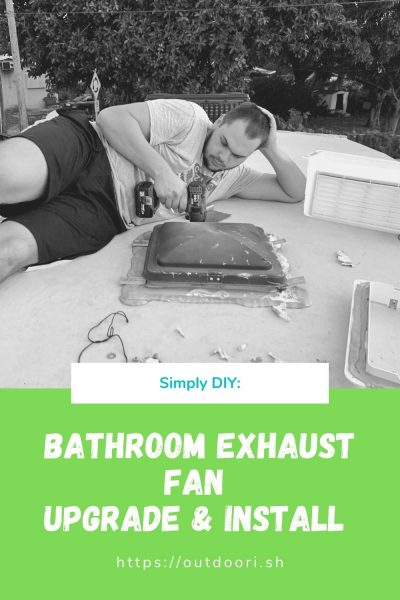 Bathroom Exhaust Fan Upgrade and Install