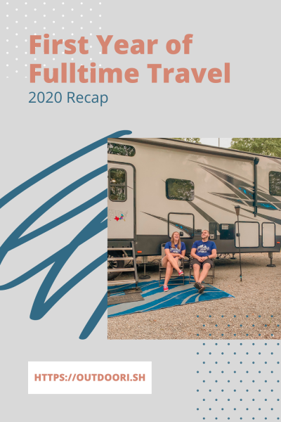 First Year of Full-time Travel 2020 Recap