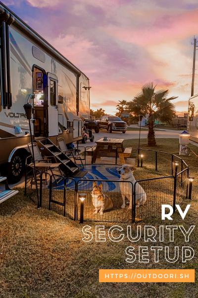 RV Security Setup