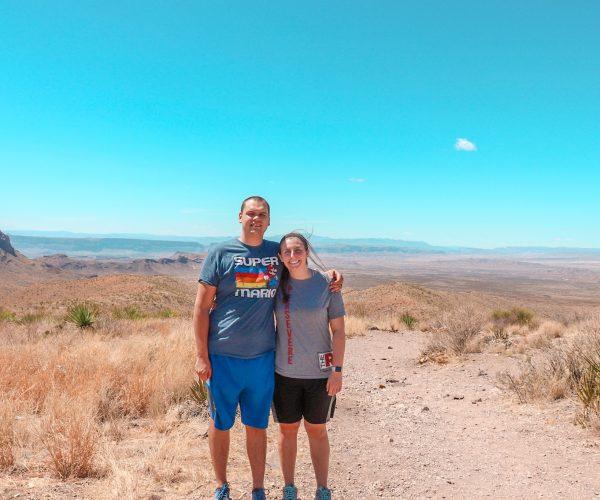 Overlooking the Santa Elena Canyon