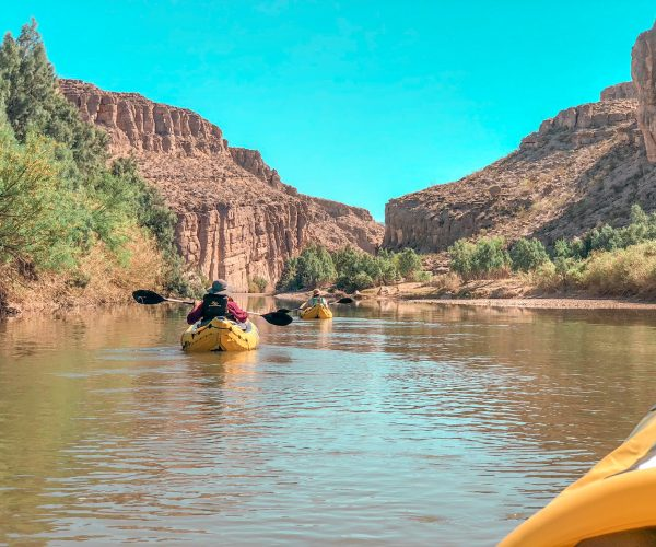Floating down the Rio Grande