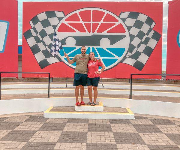 Winners circle Charlotte Motorspeedway
