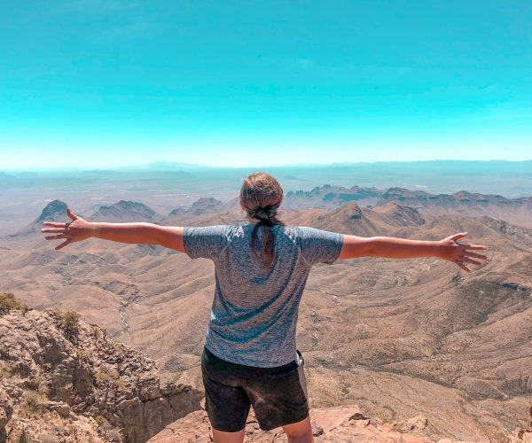 Happy to be at the south rim