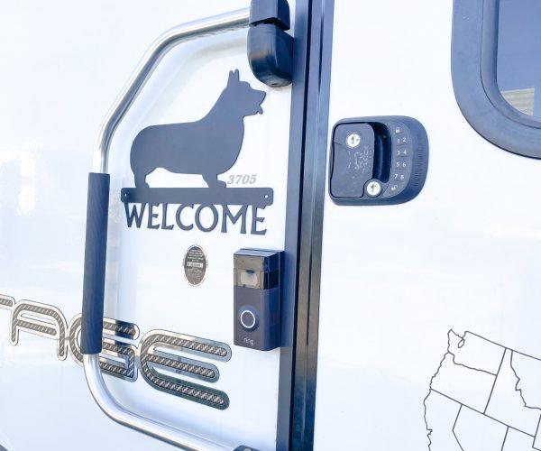 Ring Doorbell and Keyless entry lock on RV