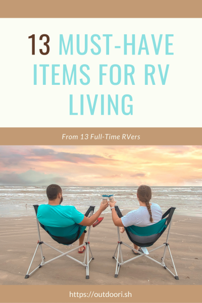 13 Must Have Items for RV Living