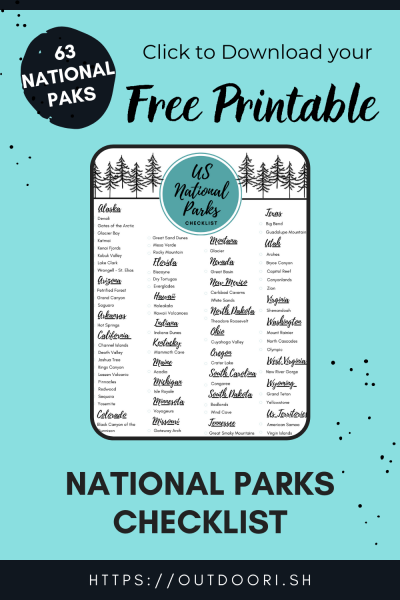 printable national parks checklist click to download