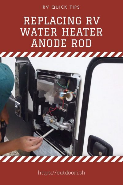 Replacing RV Water Heater Anode Rod