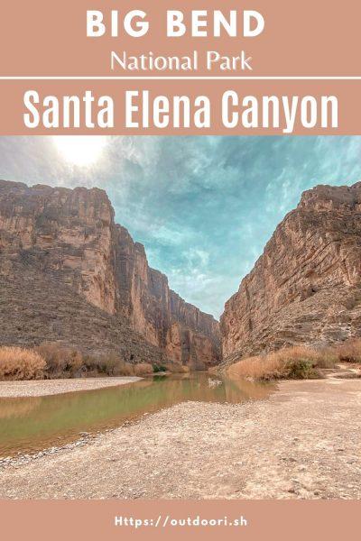 Santa Elena Canyon Pin