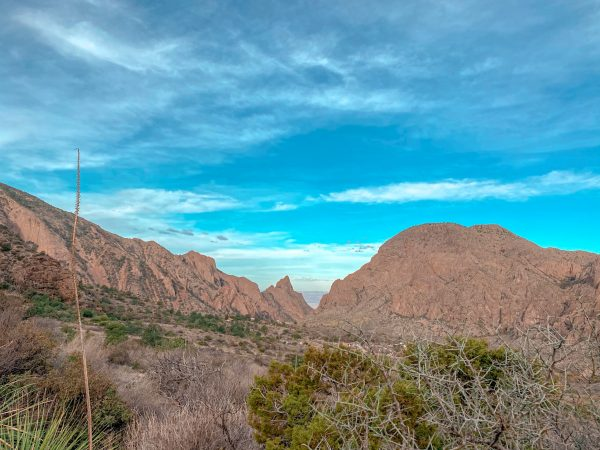 View of the Window at Big Bend National Park