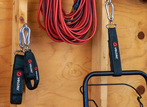 hanging organization velcro straps